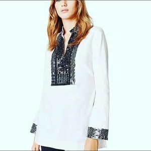 Tory Burch sequin tunic NWT
